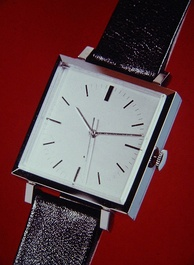 First quartz wristwatch BETA 1 developed by CEH, Switzerland, 1967