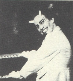 "Danny Elfman as ""Satan"" in Forbidden Zone."