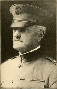 American Expeditionary Forces Commander in Chief, Gen. John J. Pershing, 1917.
