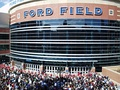 Thousands wait to enter Ford Field for WrestleMania 23 on April 1, 2007.