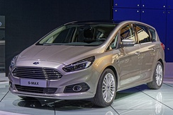The Ford S-Max, the highest-selling minivan in Europe in 2018