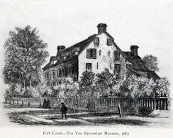 Manor House, or Fort Crailo, c.1663