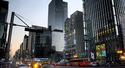 Gangnam Commercial Area
