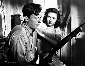 Harold Russell and Cathy O'Donnell in The Best Years of Our Lives (1946)