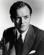 Black and white publicity photo of Van Heflin.