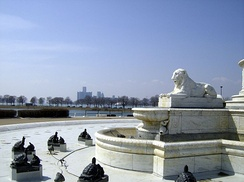 A view of the city from Belle Isle Park in April 2008