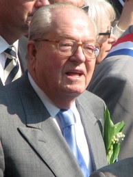 Jean-Marie Le Pen founded the Front National in 1972 and led them until 2011