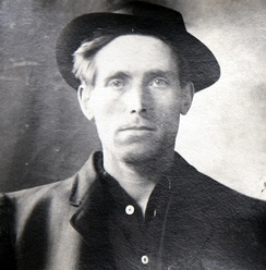 Joe Hill, one of the pioneering protest singers of the early 20th century