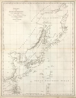 "The coasts of the ""Channel of Tartary"" were charted by La Pérouse in 1787. The land adjacent to it from the west was referred to at the time as the ""Chinese Tartary"""