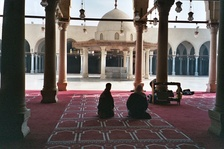 The Mosque of Amr ibn al-As in modern-day Cairo