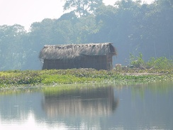 A household in Majuli
