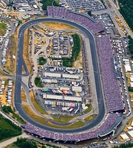 New Hampshire Motor Speedway, where the race was held.
