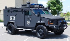 Lenco BearCat 4x4 armored personnel carrier
