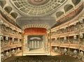 Covent Garden Theatre, burnt and rebuilt