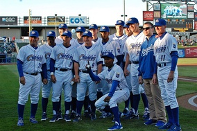 The 2011 Omaha Storm Chasers, Pacific Coast League champions