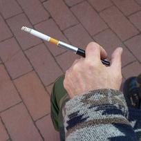 Использование мундштука при курении сигарет