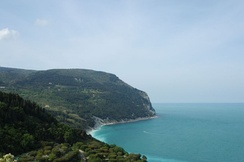 A view of Monte Conero