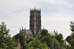 St George's Minster is a grade I listed building and was designed by Sir George Gilbert Scott in the 1850s.[6]