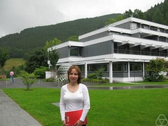 Stefanie Petermichl at the MFO, 2008
