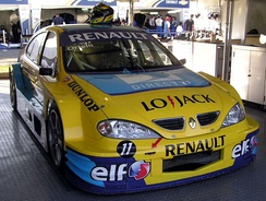 Mégane Argentina TC2000 racing car in 2006.