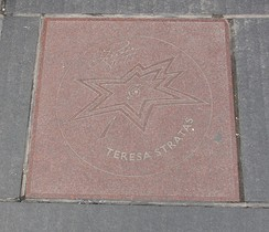 Stratas' star on Canada's Walk of Fame