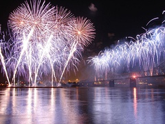 Thunder Over Louisville is the largest annual fireworks show in the world.