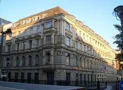 Former U.S. Chancery in Mitte district at Neustädtische Kirchstrasse