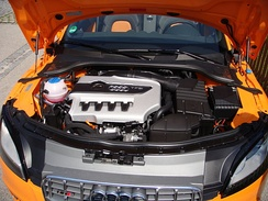 The 2.0 L TFSI Inline-four engine