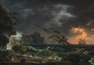 The Shipwreck (1772), National Gallery of Art, Washington D.C.