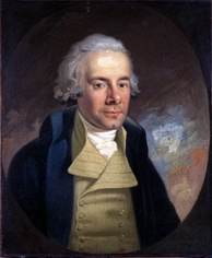 William Wilberforce (1759-1833), leading English abolitionist, led Parliamentary campaign to abolish the slave trade. Campaigned for the end of slavery in British Empire, dying three days after hearing the passage of the Act through Parliament assured.