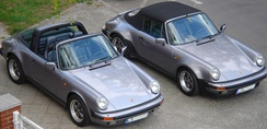 The Porsche 911 3.2 series were available in Coupe, Cabriolet and Targa styles.