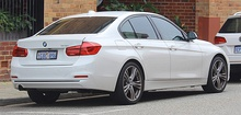 2016 BMW 320i xDrive (post-facelift)