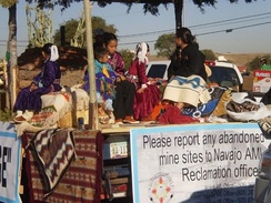 Native peoples are concerned about the effects of abandoned uranium mines on or near their lands.