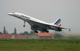 Air France Concorde at CDG Airport in 2003