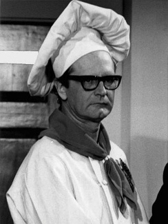 "Charles Nelson Reilly in his role as ""Randy Robinson"" on the CBS television series Arnie, 1971."