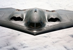 The B-2 Spirit was one of the first aircraft to successfully become 'invisible' to radar.