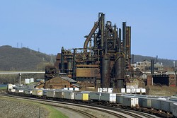 Pennsylvania was home of two of the largest steel producers in the world; Pittsburgh-based U.S. Steel and Bethlehem-based Bethlehem Steel. The former blast furnace sites have either been destroyed, preserved, or in the case of Bethlehem, became a new multi-million dollar Sands Casino Resort in 2009.