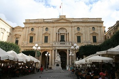 Library in Valletta