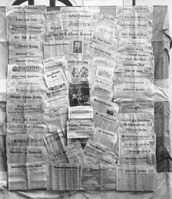 German newspapers in North America, 1922