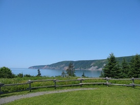 Cape Chignecto, as viewed from the Visitor Centre at Cape Chignecto Provincial Park.