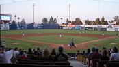A Las Vegas 51s baseball game against the Iowa Cubs at Cashman Field in 2008