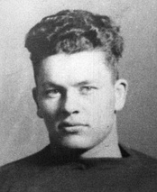 Curly Lambeau, founder, player and first coach of the Packers.