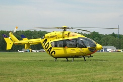 A Eurocopter EC 145 (German ADAC air rescue helicopter)