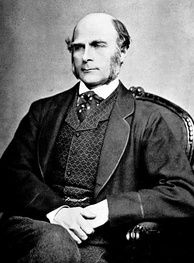 "Francis Galton was an early eugenicist, coining the term itself and popularizing the collocation of the words ""nature and nurture"".[17]"