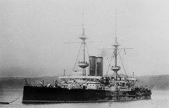 HMS Ocean was typical of pre-dreadnought battleships