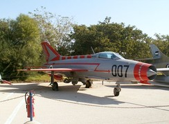 MiG-21 at the Israeli Air Force Museum in Hatzerim