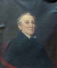 John Trumbull, painted by James Frothingham