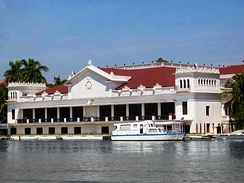 Malacañang Palace, the official residence of the President of the Philippines.