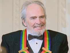 Haggard at the White House for the 2010 Kennedy Center Honors