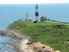 Montauk Point is at Long Island's rural eastern tip.